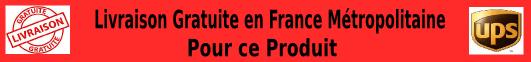 livraison gratuit france métropole